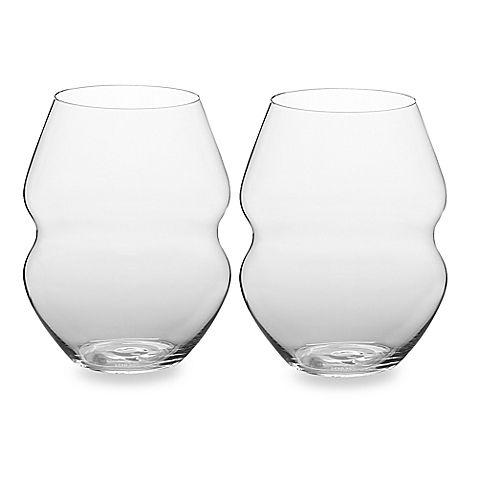 Vintage Lenox? Stemless Wine Glasses
