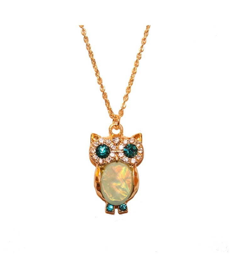 51 best my owl jewelry images on pinterest owls owl and owl jewelry emerald owl necklace shoplately adorable aloadofball Image collections