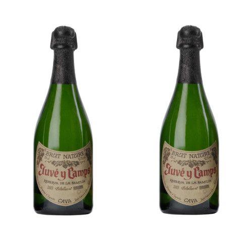 Vin mousseux Mousseux Cava Juve Camps Réserve Familia 12º - LOT DE 2