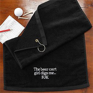 You Name It! Personalized Golf Towel