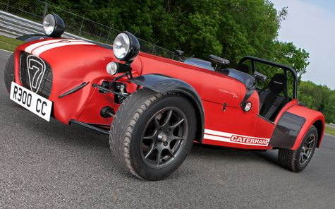 Caterham 7 Superlight R300. The essence of sports driving.