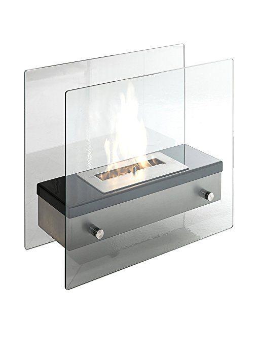 Tomasucci Neos Bioethanol-Ofen, Metall, Transparent