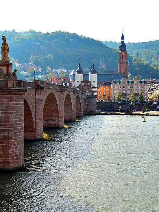 Hiking in Heidelberg, Germany
