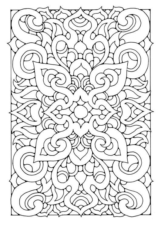 coloring page mandala6a coloring picture mandala6a free coloring sheets to print and download
