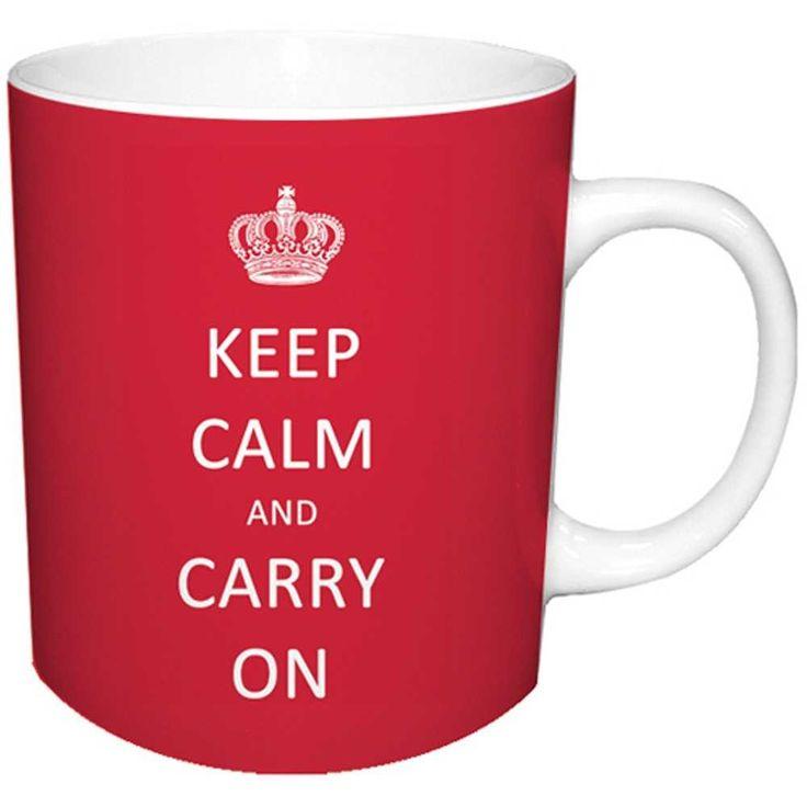 Funny Keep Calm Mug