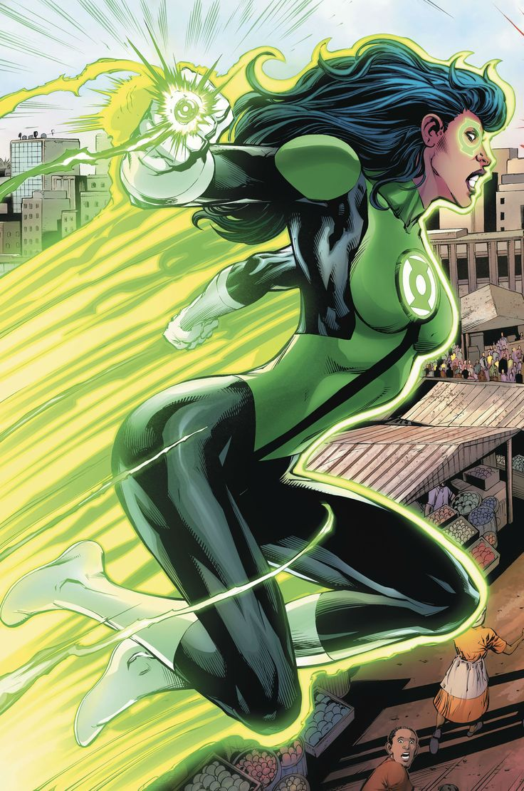 Green Lantern Jessica Cruz by Tom Derenick