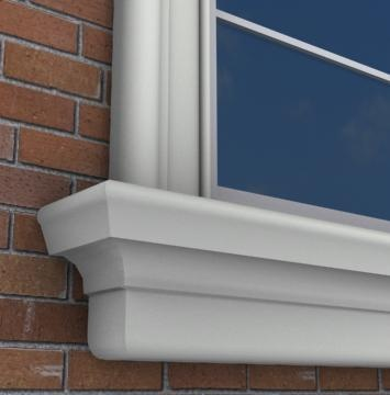 18 Best Images About Exterior Foam Window Sills On Pinterest Window Boxes Exterior Trim And
