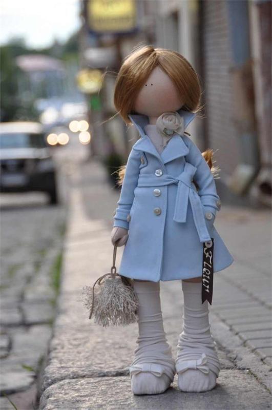 Авторская кукла Татьяны Александровой: FLEUR фото