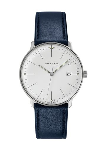 Junghans Ref. Nr. 041/4464.00 - As one of the most extraordinary designers of the last century, the architect, painter, sculptor and product designer Max Bill left behind an extensive life's work, including one of the most fascinating watch collections of recent decades.