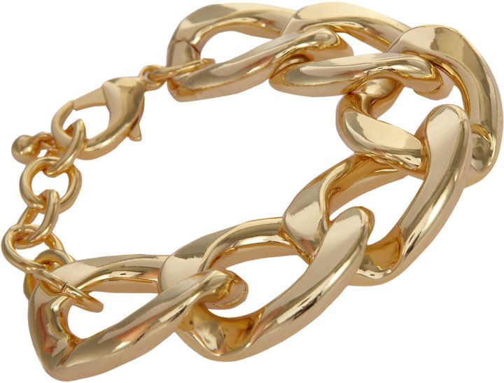 Kenneth Jay Lane Kenneth Jay Lane, Inc Oversize Curb Link Bracelet on shopstyle.com