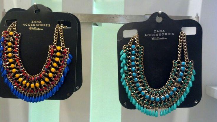 Zara necklaces