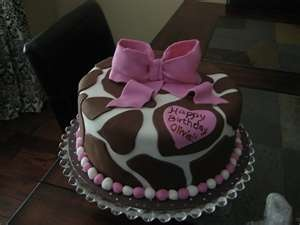 Love the Giraffe cake!!