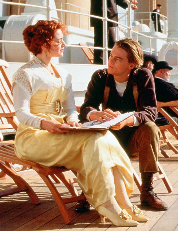 Leonardo DiCaprio en 'Titanic'
