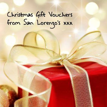 Restuarant Gift Vouchers, The way to a heart is through the belly so give a gift of delicious dining to a loved one this Christmas with a San Lorenzo's gift voucher., http://www.sanlorenzos.ie
