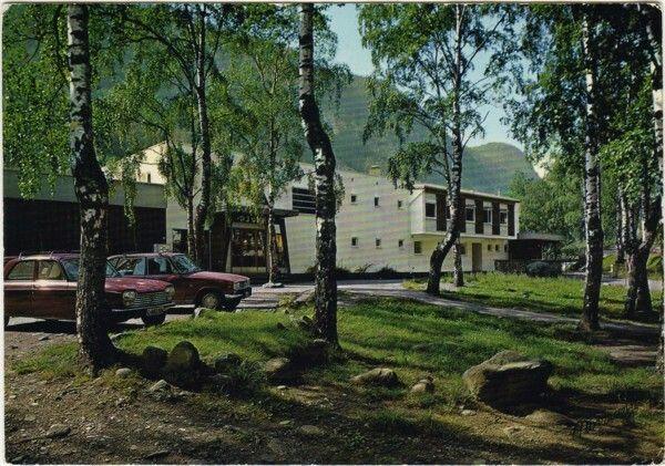 Telemark fylke Tinn kommune Rjukan Ungdomsherberge 1970-tallet Utg Normann
