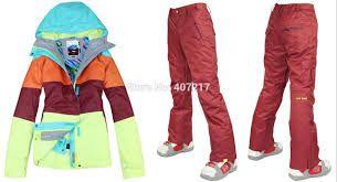 Resultado de imagen para ropa esqui mujer