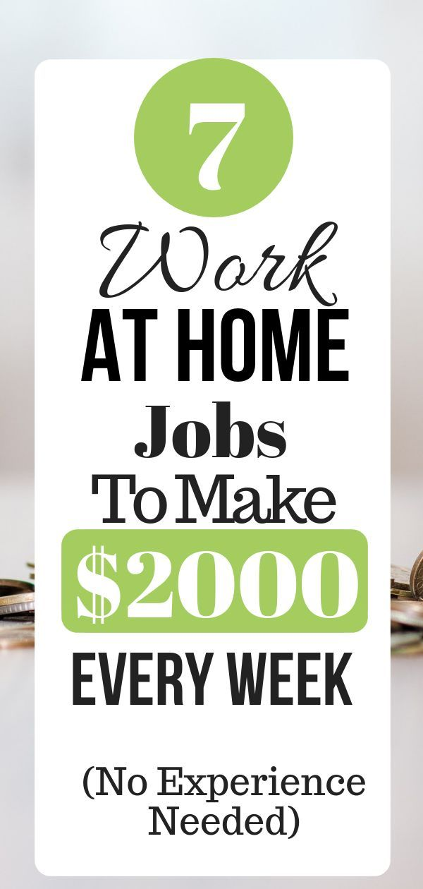 23 Highest Paying Work From Home Jobs That Pay Up To 100k Work