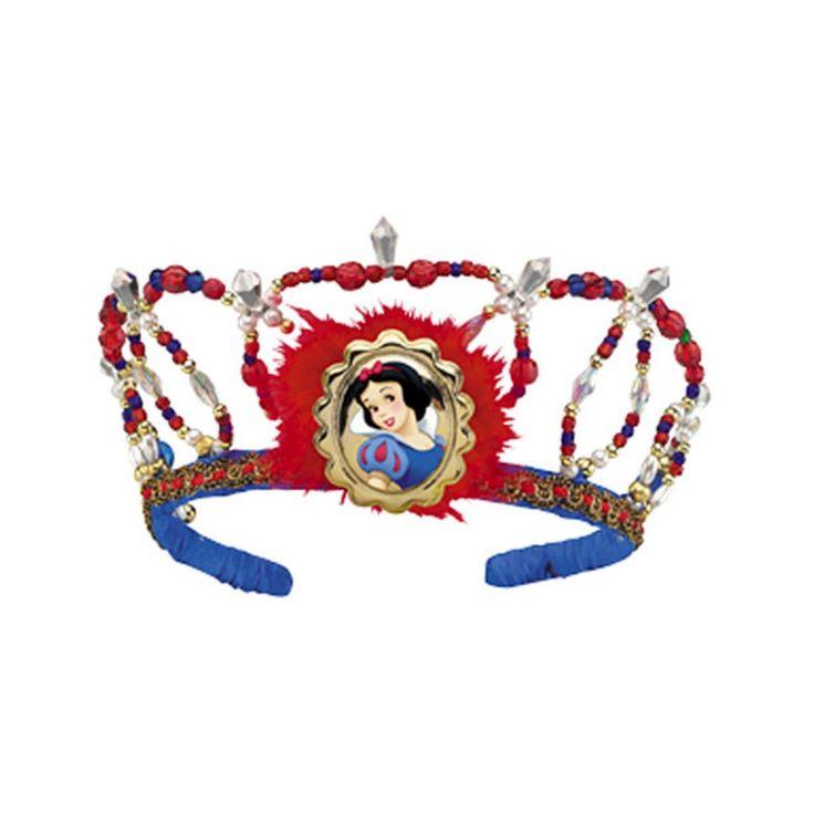 Halloween Disney Snow Tiara, Girl's, Red