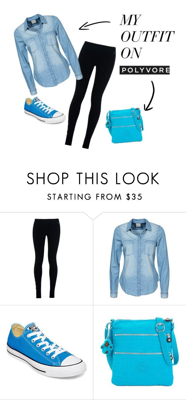 """""""so so casual..."""" by ritty18 on Polyvore featuring NIKE, Vero Moda, Converse and Kipling"""