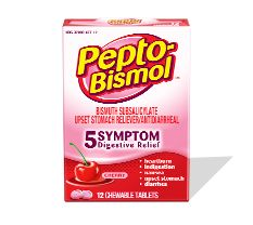 Cherry-Flavored Pepto-Bismol