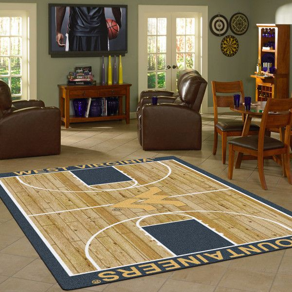 West Virginia Rug University Basketball Court