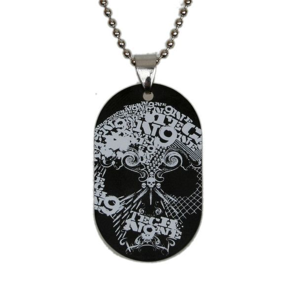 The 181 best 3strictly strange3 images on pinterest strange black dog tag with white tech n9ne skull aloadofball Gallery