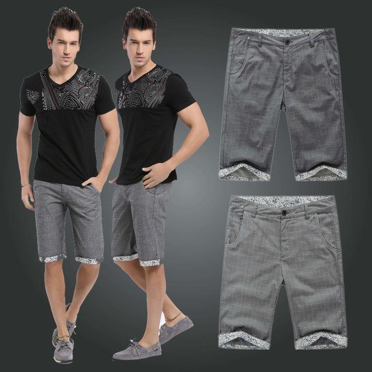 Шорты человек пляжный повседневный приталенный мужские шорты бермуды masculina спорт шорты мужчины 2 цвета 29 - 33 141113
