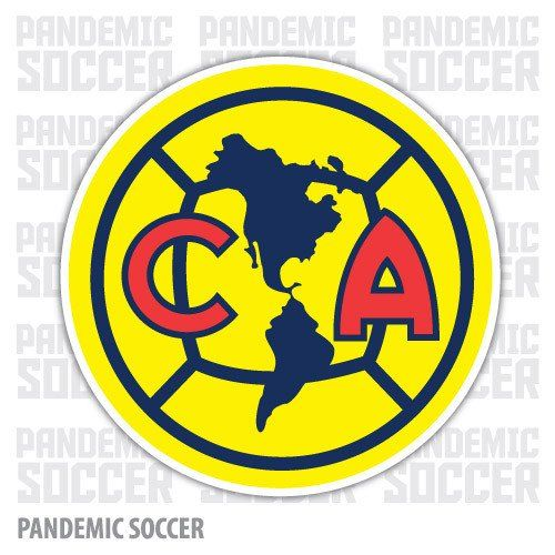 Club America Mexico Vinyl Sticker Decal Calcomania
