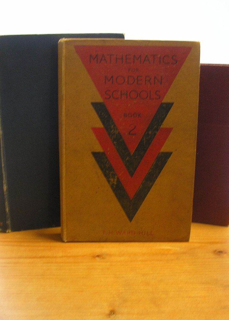 Vintage reference book Mathmatics for Modern Schools Book 2 T H Ward Hill school text book 1940s maths book algebra equations problems by TrooperslaneBooks on Etsy