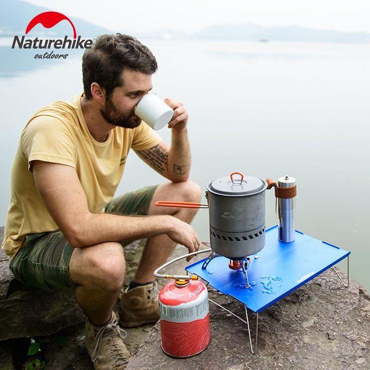 NatureHike Outdoor Super Light Portable Aluminium Alloy Folding Mini Table