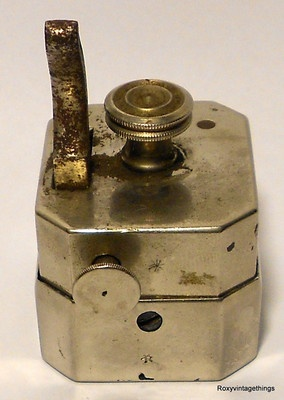 ANTIQUE OCTOGONAL BLEEDER MEDICAL DEVICE SCARIFICATOR BLOOD LETTING