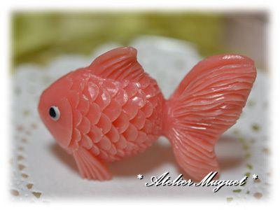 金魚 ソープカービングSoap carving work#craft#石鹸彫刻#Soap flower