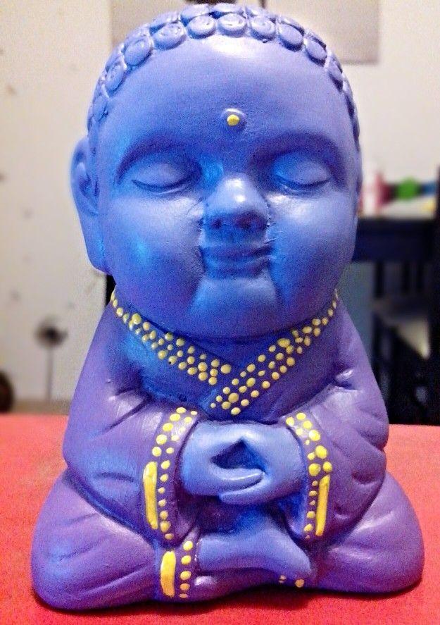 Buda bebe, en yeso pintado a mano con acrilico y barnizado 50$ https://m.facebook.com/profile.php?id=525004720969062