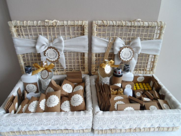 Kit toillet e kit ressaca rústico refinado para casamento na praia
