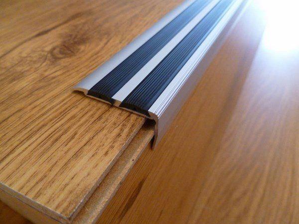 Stair Nosing Ideas Aluminum Non Slip Stair Edge Nosing Staircase   Wood Floor Step Edge   Stair Tread   Staircase   Engineered Hardwood   Trim   Carpeted Stairs