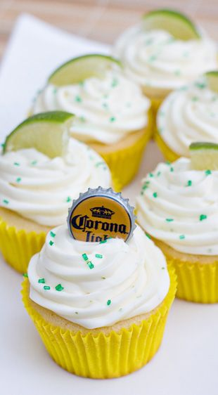 Beer Cupcakes - not sure how I feel about this.