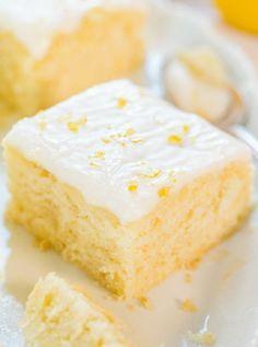 Low FODMAP and Gluten Free Recipe - Lemon Cake http://www.ibssano.com/low_fodmap_recipe_lemon_cake.html