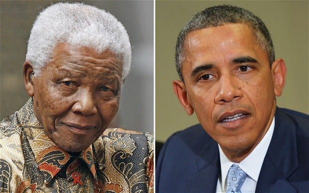 "Obama and Nelson Mandela: George Washington a Communist?    There is absolutely no comparison between George Washington and Nelson Mandela.  George Washington was a Founding Father. He presided over the convention that drafted the Constitution and warned the nation against partisanship, sectionalism, and involvement in foreign wars.  Nelson Mandela was… well, a communist and a terrorist.        Obama: ""No difference between a founding father and a communist terrorist."""
