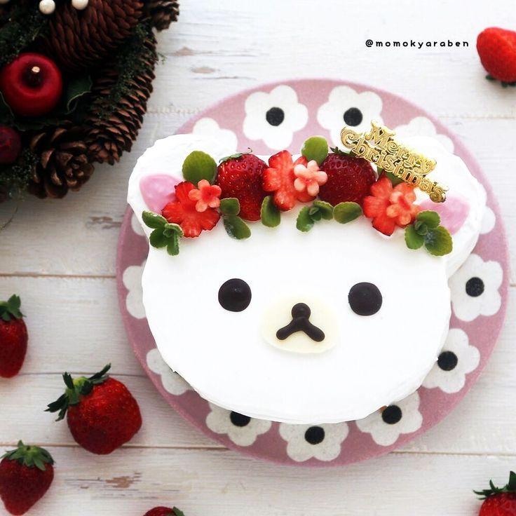 Merry Christmas✨ .  今年のクリスマスケーキはコリラックマのフェイスケーキを作りました。 いちごの花冠でラブリーに♡ 去年がリラックマで今年がコリラックマってネタ切れ感が半端ないですがw スポンジが美味しく焼けたと好評でした♪ 作り方はブログにUPしています→ @momokyaraben . お返事まだでごめんなさい♀️ ステキなクリスマスフィードも見れていないですあっという間にお正月が来てしまいそう .  #リラックマケーキ #クリスマスケーキ #コリラックマケーキ #クッキングラム #コリラックマ #リラックマ #クッキングラムアンバサダー #デリスタグラマー #手作りお菓子 #キャラスイーツ #おやつ #料理写真 #クリスマス #クリスマスケーキ #おいしいから冬が好き #ケーキ #クリスマスと手作りレシピ #vitantonioクリスマス #Christmascake #momosweets #Christmas #lin_stagrammer #igersjp #yummy #instasweet #instafood #kawaii...