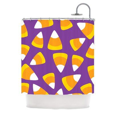 yellow and purple shower curtain. East Urban Home  Kandy Korn Purple Shower Curtain Best 25 shower curtains ideas on Pinterest home