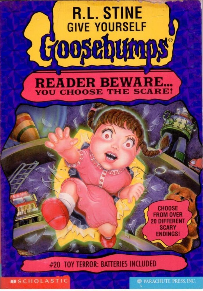 Give Yourself Goosebumps #20 - Toy Terror: Batteries Included- S/Hand -Paperback