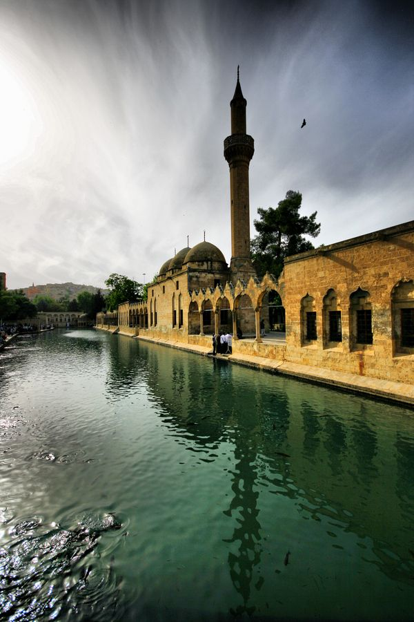 According to tradition, Nimrod had Abraham immolated on a funeral pyre, but God turned the fire into water and the burning coals into fish. This is the place that all happened. SANLIURFA