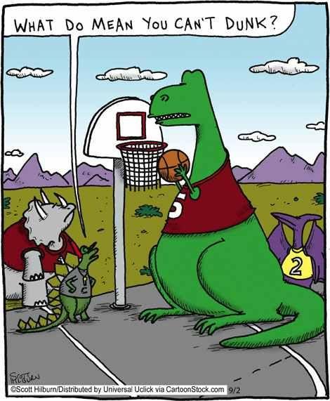 Poor T-Rex! :(