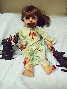 Zombie Baby Rat Mice Feast Halloween Haunted House Prop | eBay