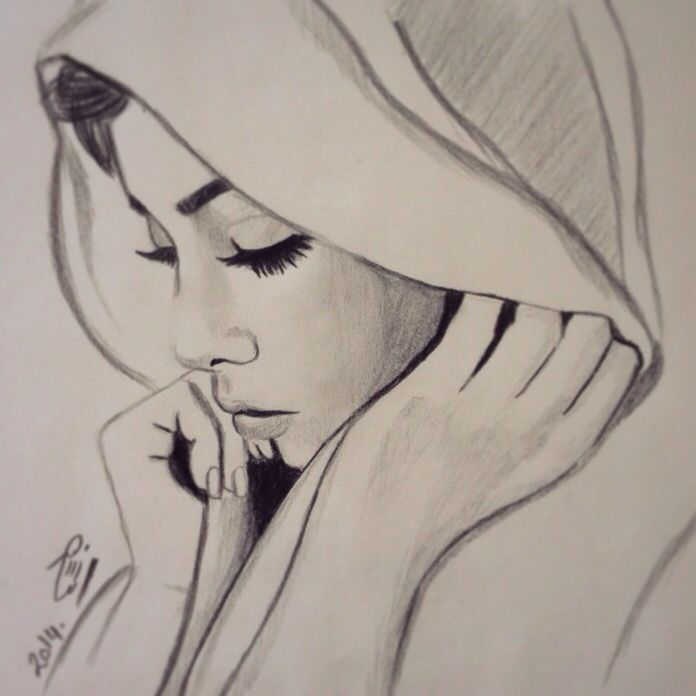 #my_drawing حجاب ❤️