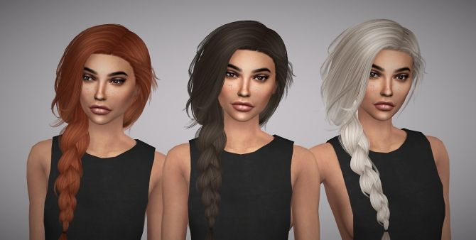 Sims 4 Updates: Aveline Sims - Hairstyles : Stealthic Summer Haze retexture, Custom Content Download!