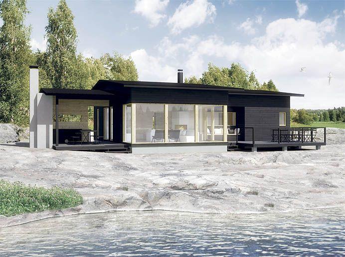 Sunhouse S328. Architect: Kalle Oikari.