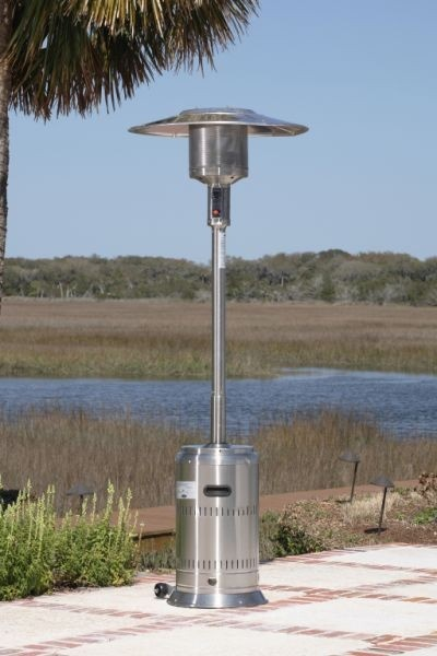 Fire Sense Well Traveled Living Stainless Steel Commercial Patio Heater    1775