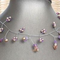 253 best I\'m wired: Necklaces images on Pinterest | Wire jewelry ...