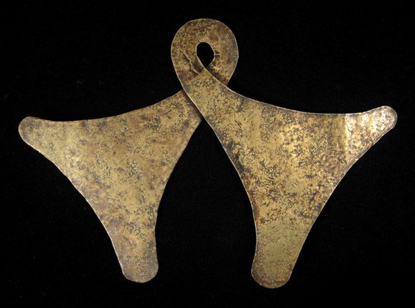 Indonesian Tribal Art - Marangga pectoral, Sumba Island, Indonesia, reverse
